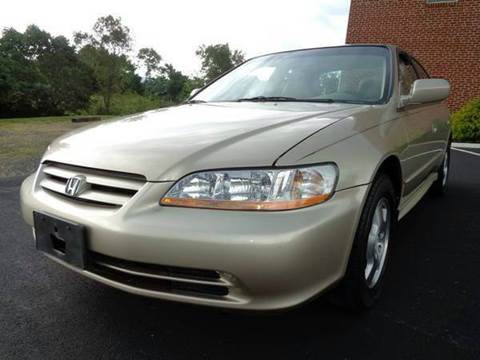 2001 Honda Accord for sale at Supermax Autos in Strasburg VA