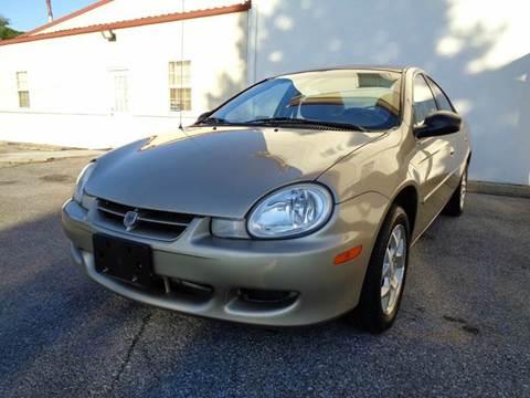 2002 Dodge Neon for sale at Supermax Autos in Strasburg VA
