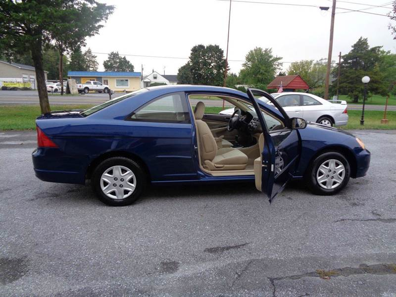 2003 Honda Civic LX 2dr Coupe W/Side Airbags   Strasburg VA