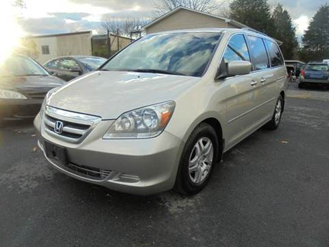 2007 Honda Odyssey for sale at Supermax Autos in Strasburg VA