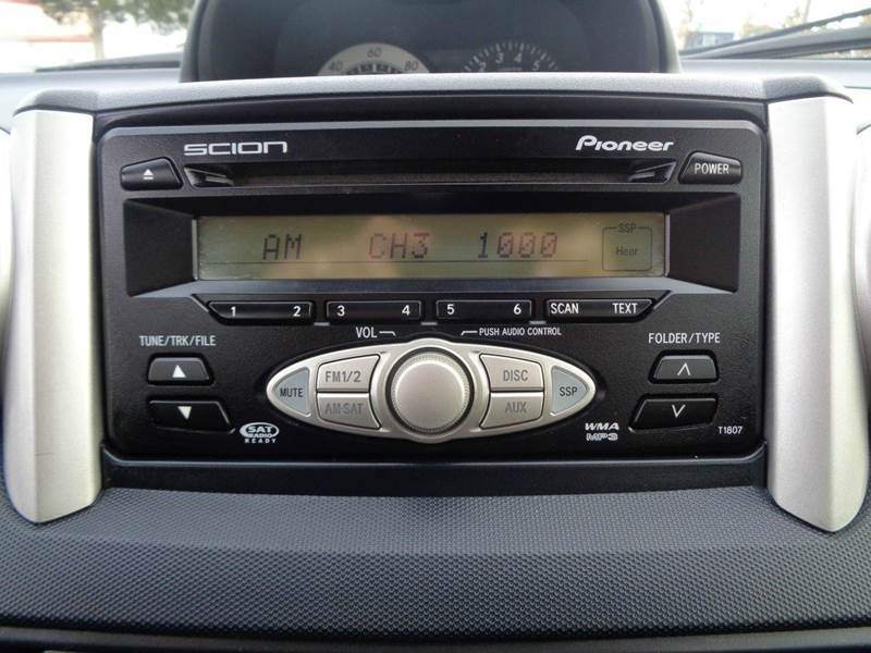 2006 scion xa base 4dr hatchback w manual in strasburg va supermax rh supermaxautos com Scion xB Stereo 2005 Scion xB Radio