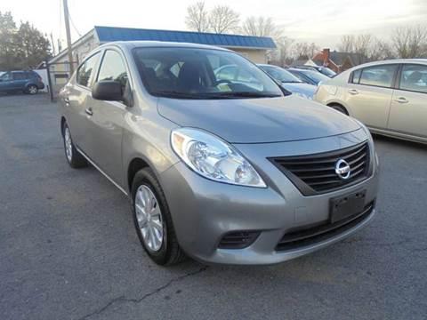 2014 Nissan Versa for sale at Supermax Autos in Strasburg VA