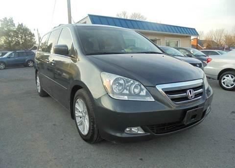 2005 Honda Odyssey for sale at Supermax Autos in Strasburg VA