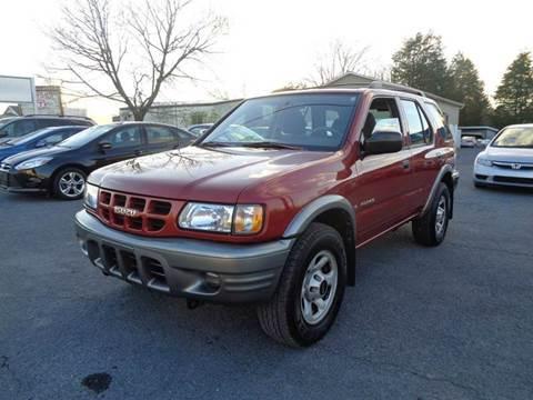 2001 Isuzu Rodeo for sale at Supermax Autos in Strasburg VA