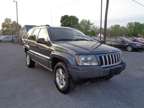 2004 Jeep Grand Cherokee for sale at Supermax Autos in Strasburg VA