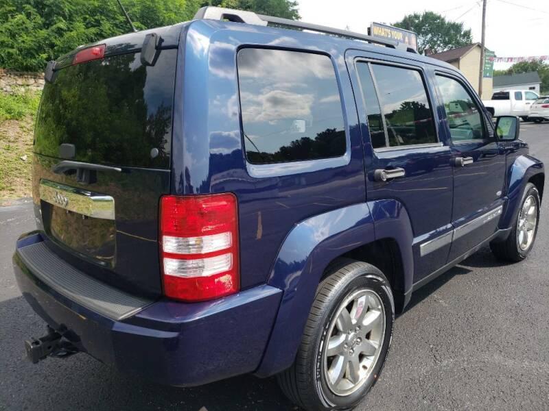 2012 Jeep Liberty 4x4 Latitude 4dr SUV - Greensburg PA