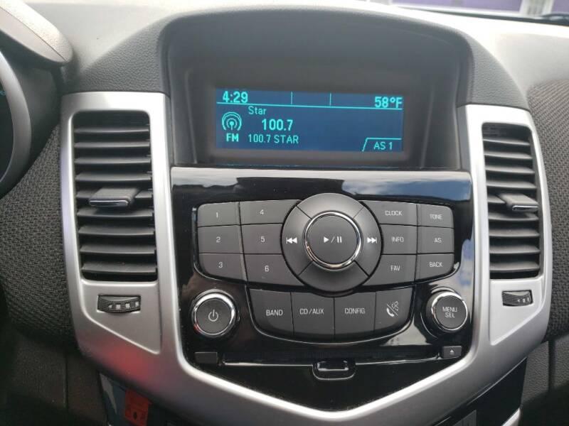2014 Chevrolet Cruze 1LT Auto 4dr Sedan w/1SD - Greensburg PA