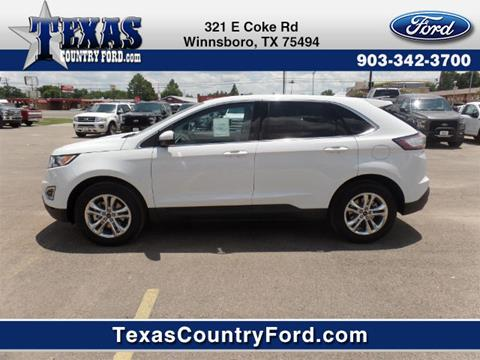2017 Ford Edge for sale in Winnsboro, TX