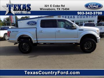 2015 Ford F-150 for sale in Winnsboro, TX
