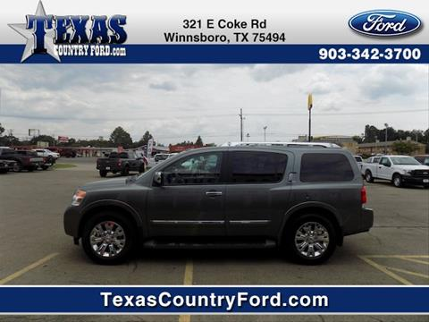 2015 Nissan Armada for sale in Winnsboro TX