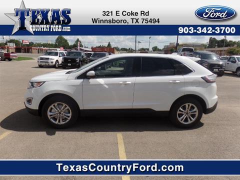 2017 Ford Edge for sale in Winnsboro, TX
