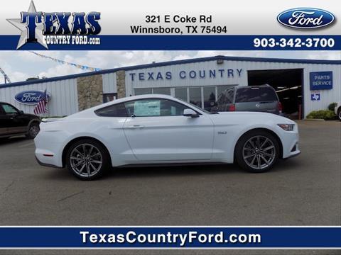 2017 Ford Mustang for sale in Winnsboro, TX