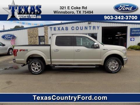 2017 Ford F-150 for sale in Winnsboro TX