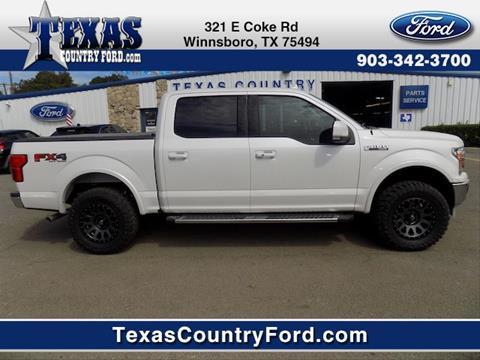 2018 Ford F-150 for sale in Winnsboro TX