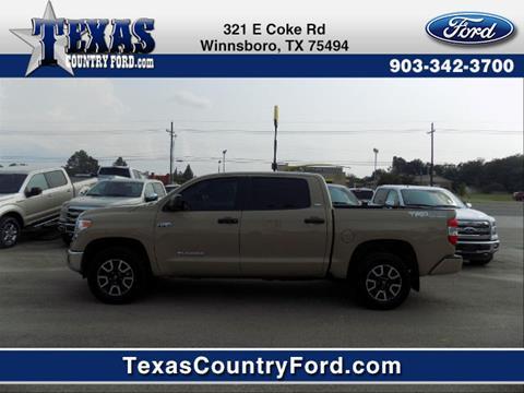2017 Toyota Tundra for sale in Winnsboro TX