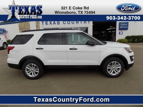 2017 Ford Explorer for sale in Winnsboro TX