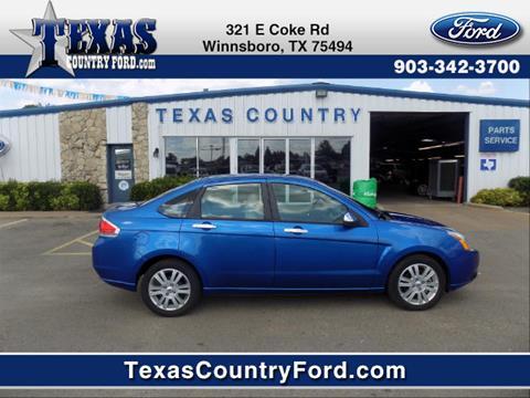 2010 Ford Focus for sale in Winnsboro TX