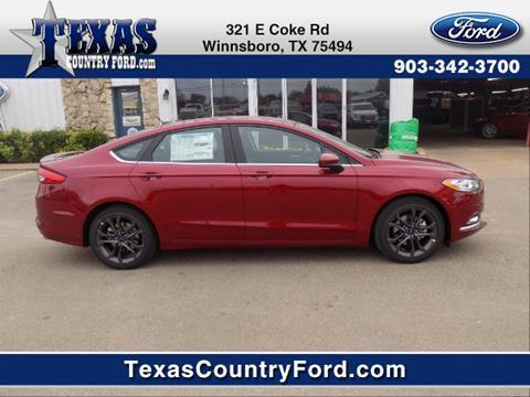 2018 Ford Fusion for sale in Winnsboro, TX