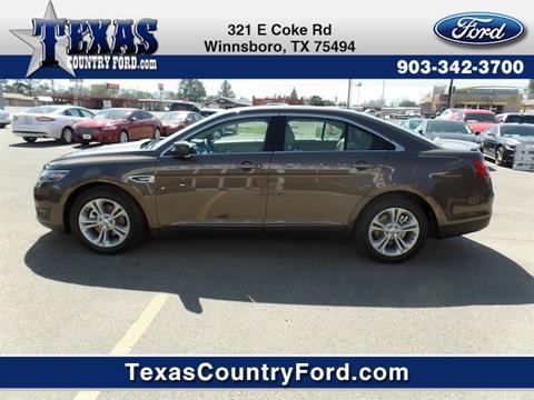 2016 Ford Taurus for sale in Winnsboro TX