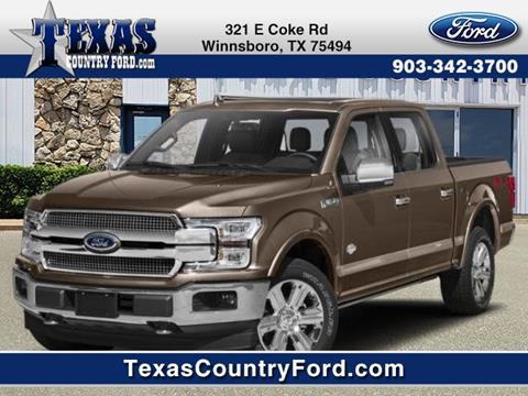 2019 Ford F-150 for sale in Winnsboro, TX