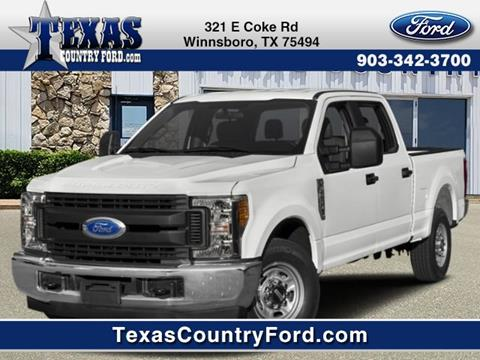 2019 Ford F-250 Super Duty for sale in Winnsboro, TX