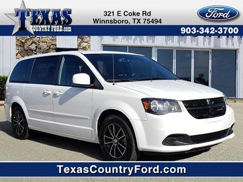 2017 Dodge Grand Caravan for sale in Winnsboro, TX