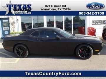 2010 Dodge Challenger for sale in Winnsboro, TX