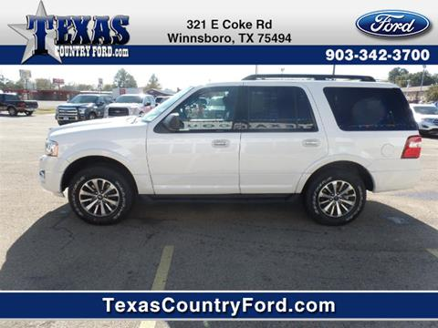 2017 Ford Expedition for sale in Winnsboro TX