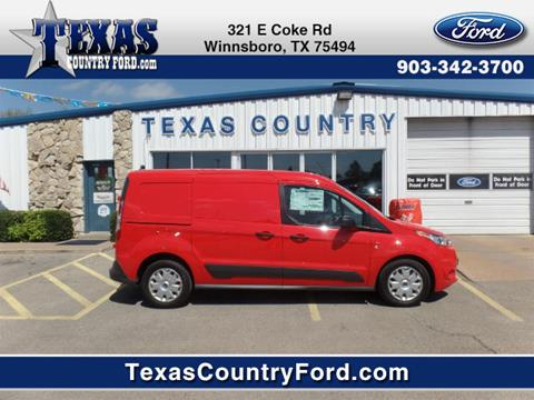 2017 Ford Transit Connect Cargo for sale in Winnsboro TX