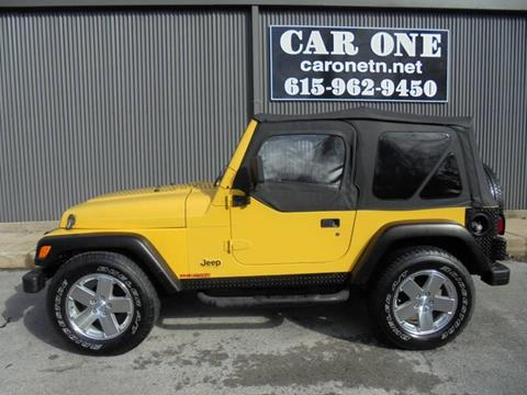 2000 Jeep Wrangler for sale in Murfreesboro, TN