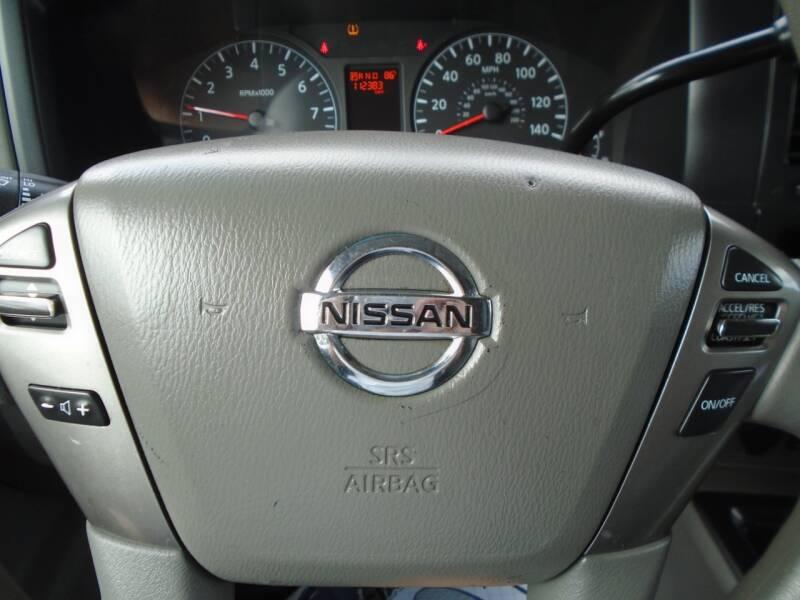 2013 Nissan NV Cargo 2500 HD SV 3dr Cargo Van w/High Roof (V6) - Murfreesboro TN