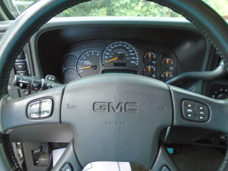 2005 GMC Sierra 1500 4dr Crew Cab SLE 4WD SB - Murfreesboro TN