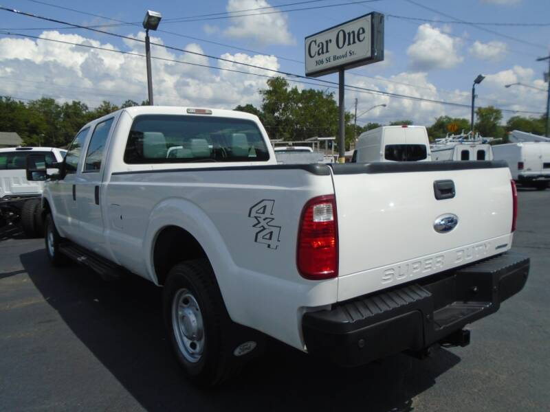 2012 Ford F-250 Super Duty 4x4 XL 4dr Crew Cab 8 ft. LB Pickup - Murfreesboro TN