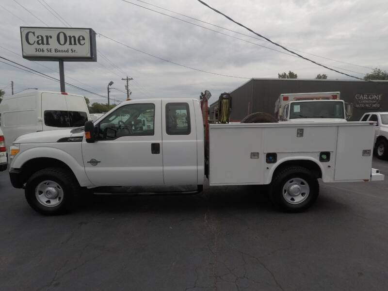 2012 Ford F-350 Super Duty 4x4 XL 4dr SuperCab 162 in. WB SRW Chassis - Murfreesboro TN