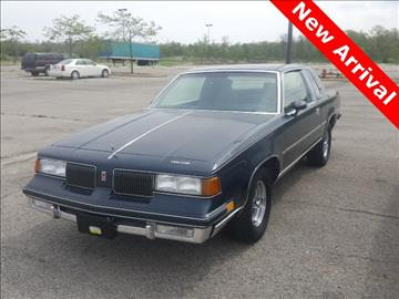 1987 Oldsmobile Cutlass Supreme for sale in Defiance, OH