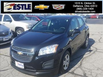 2015 Chevrolet Trax for sale in Defiance, OH