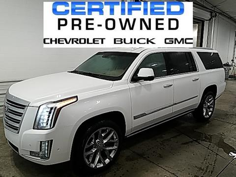 2018 Cadillac Escalade ESV for sale in Defiance, OH