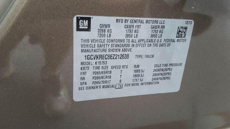 2014 Chevrolet Silverado 1500 4x4 LT 4dr Double Cab 6.5 ft. SB w/Z71 - Plains PA