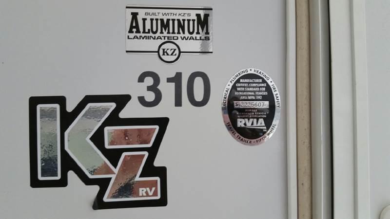 2008 KZ Sportsmen KZ310  - Plains PA