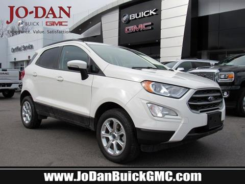 2018 Ford EcoSport for sale in Plains, PA
