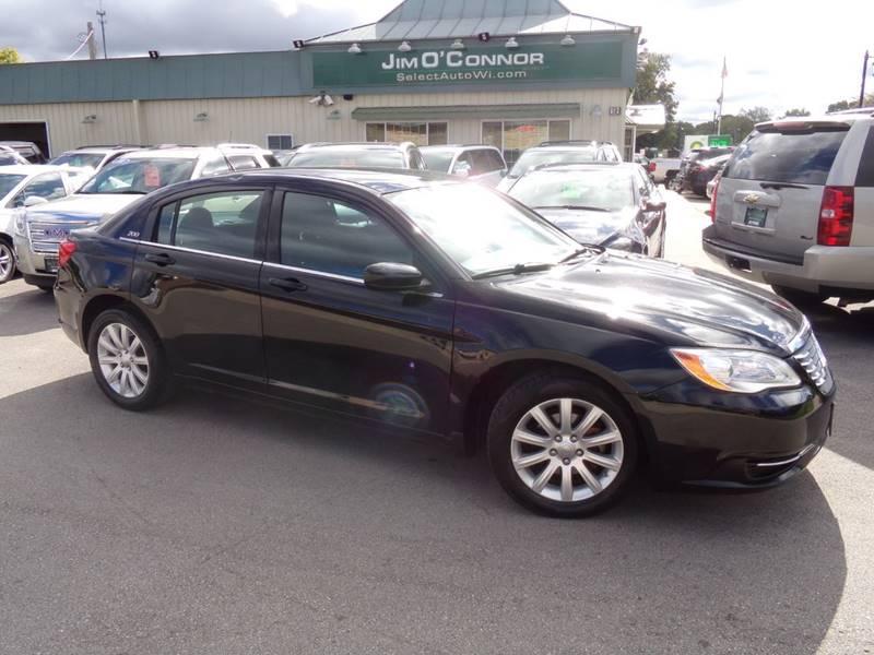 O Connor Chrysler >> 2012 Chrysler 200 Touring 4dr Sedan In Oconomowoc Wi Jim O