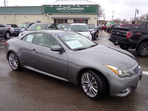 2012 Infiniti G37 Convertible for sale in Oconomowoc, WI