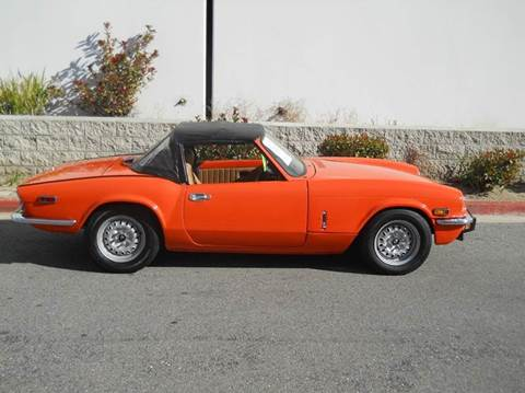 1973 Triumph SPITFIRE for sale in Murrieta, CA