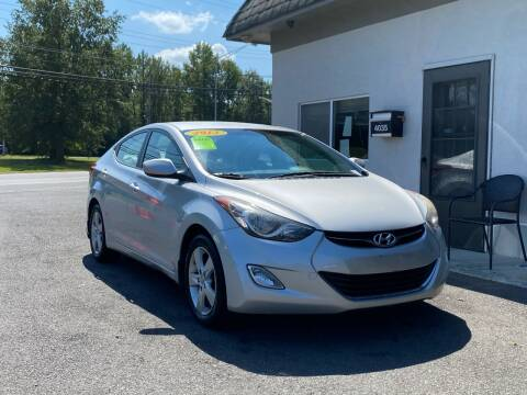 2013 Hyundai Elantra for sale at Vantage Auto Group in Tinton Falls NJ