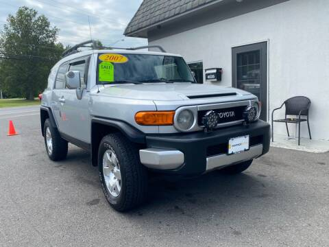 2007 Toyota FJ Cruiser for sale at Vantage Auto Group in Tinton Falls NJ