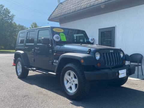 2008 Jeep Wrangler Unlimited for sale at Vantage Auto Group in Tinton Falls NJ