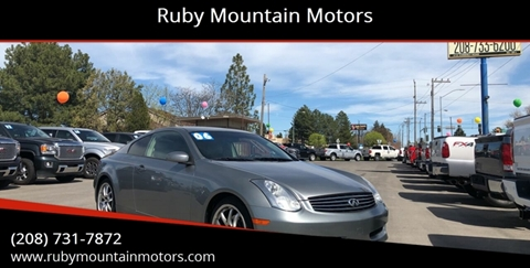 2006 Infiniti G35 for sale in Twin Falls, ID