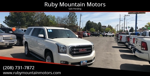 2015 GMC Yukon XL for sale in Twin Falls, ID