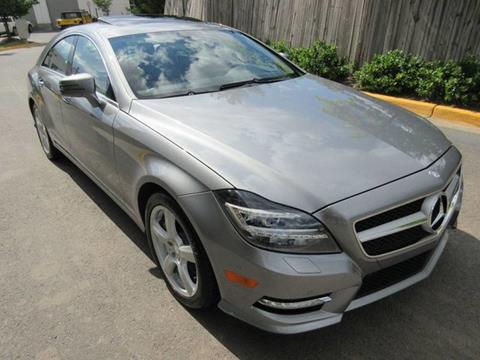 2013 Mercedes Benz CLS For Sale In Chantilly, VA