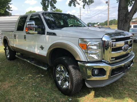 2011 Ford F-250 Super Duty for sale at Creekside Automotive in Lexington NC